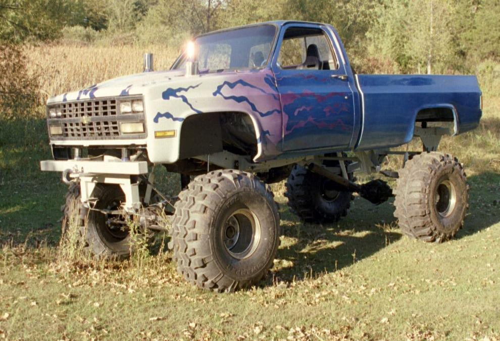 Mudding Chevy Mud Truck