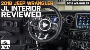 2018 Jeep Wrangler JL Interior Review
