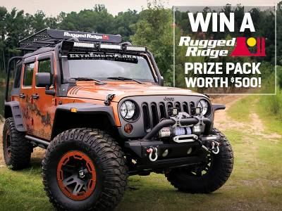 Regular to Rugged Giveaway!