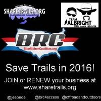ASK BUSINESSES TO HELP US SAVE TRAILS IN 2016