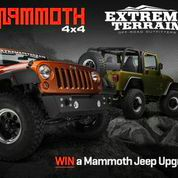 Giveaway: Mammoth Jeep Upgrade Giveaway