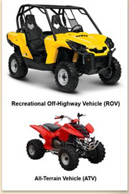 ROV and ATV