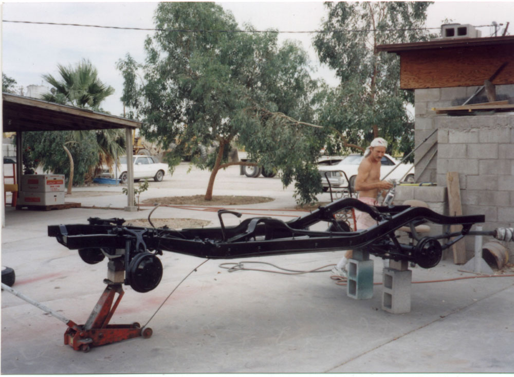 Willys Jeep Frame