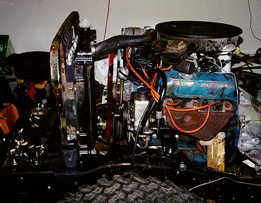 Project Pieces and Parts - Engine