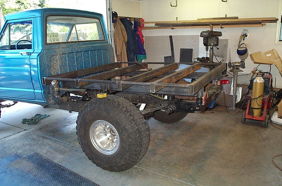 diy flatbed for a pickup truck