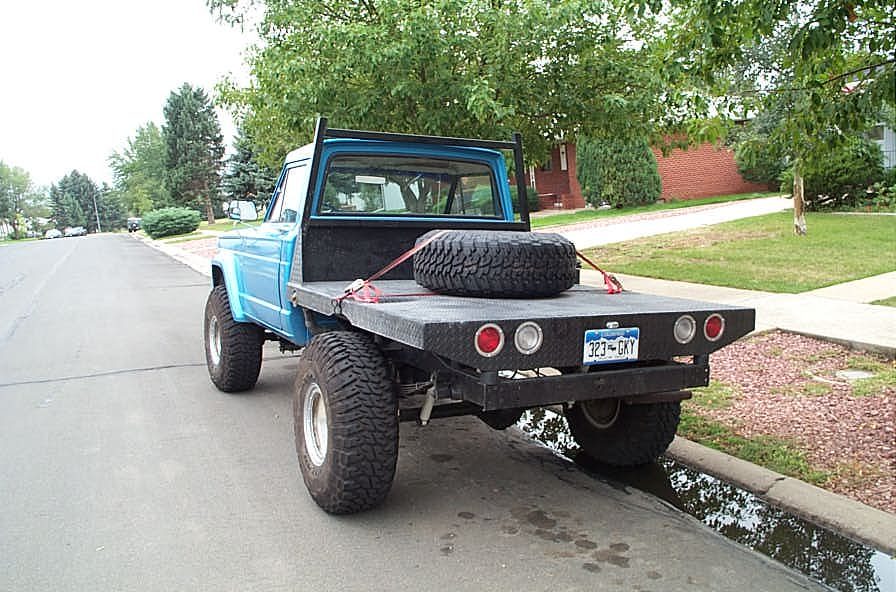 Building A Flatbed For A Jeep J 10 Pickup