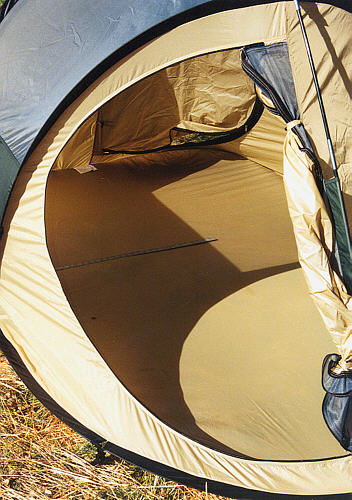 The tent has a spacious interior & A review of the Quickdraw Tent on the ORN