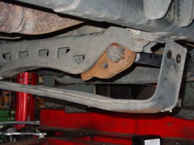 Removing Passenger Side Torsion Bar