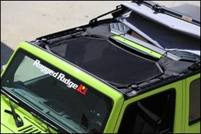 Rugged Ridge announces new Eclipse Sun Shade for '07-'13 Jeep JK Wranglers
