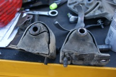 Old Motor Mounts