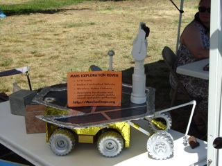 Mars Rover Scale Model