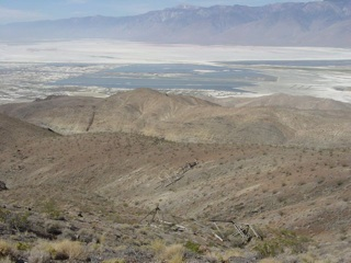 Overlooking Owens Valley, CA