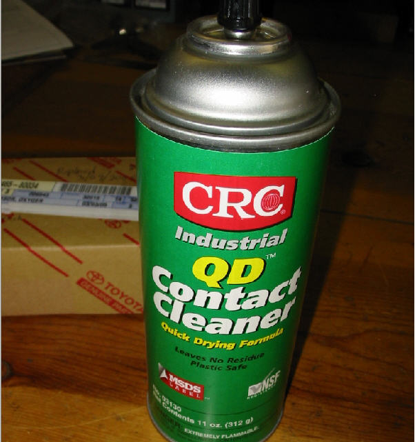 Spark Electrical Contact Cleaner