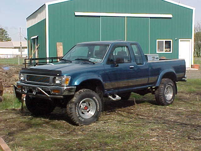 1995 Nissan 4X4 Pickup For Sale image