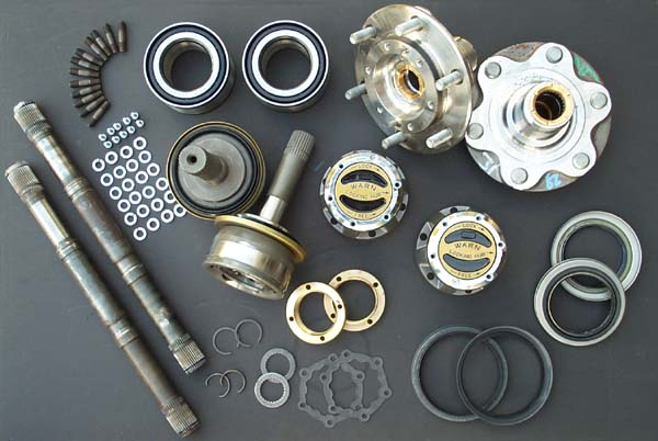 4x4Wire - Off Road Solutions Manual Hub Conversion Kit